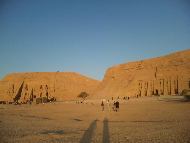 エジプト五日目、アブシンベルの夜明け
