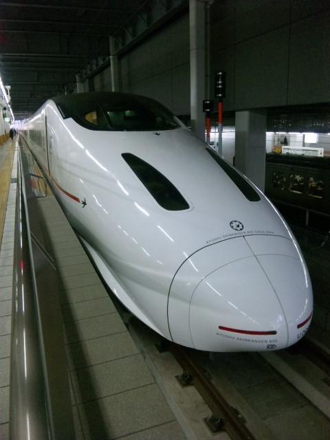 初乗り九州新幹線(2)