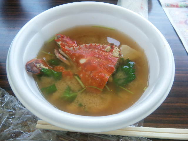 カニ祭り汁@西条食いフェス