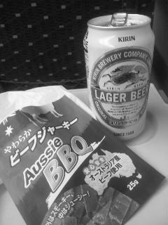 新幹線ビールで一句